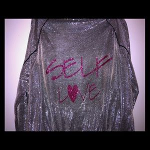 Self Love pullover jacket.